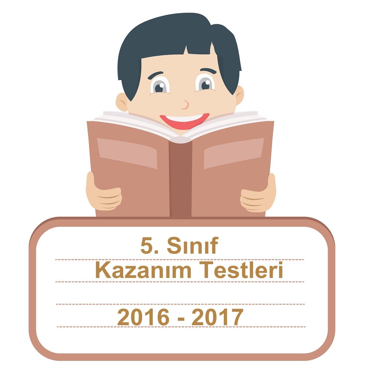 Kazanım Testleri Tüm Yıllar