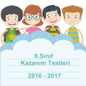 8.sınıf türkçe meb kazanım kavrama testleri 2016 2017 cevap anahtarı pdf