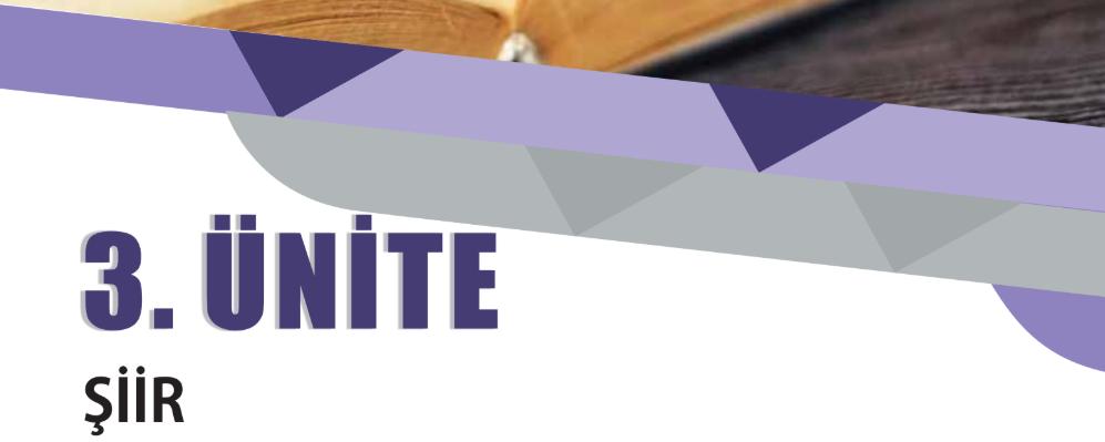 edebiyat ünite özetleri pdf 9.sınıf 3.ünite şiir