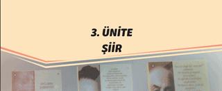 edebiyat konu anlatımı pdf 11.sınıf 3.ünite şiiir