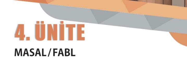 9.sınıf edebiyat 4.ünite masal fabl konu anlatımı