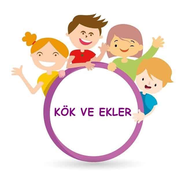 5.Sınıf Kök ve Ekler Konu Anlatımı PDF -  5.Sınıf Türkçe Konu Anlatımı PDF