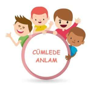 6.Sınıf Cümlede Anlam Konu Anlatımı PDF – 6.Sınıf Türkçe Konuları PDF