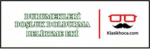 Belirtme Eki Etkinlik Çalışma Kağıdı Yabancılar için Türkçe Öğretimi PDF