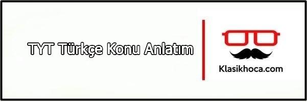 TYT Türkçe Konu Anlatımı PDF dil bilgisi