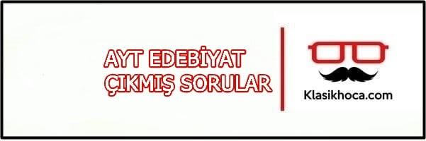 İslamiyet Öncesi Türk Edebiyatı Çıkmış Sorular PDF